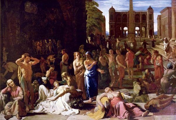 La Peste en Atenas