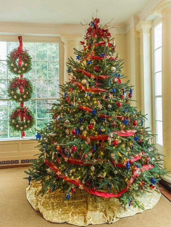Cu l es el significado de los rboles de navidad - Arbol de navidad artesanal ...