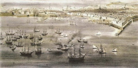 batalla-trafalgar-puerto-cadiz