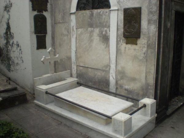 Cementerio de la Recoleta donde descansa los restos de Remedios Escalada de San Martín