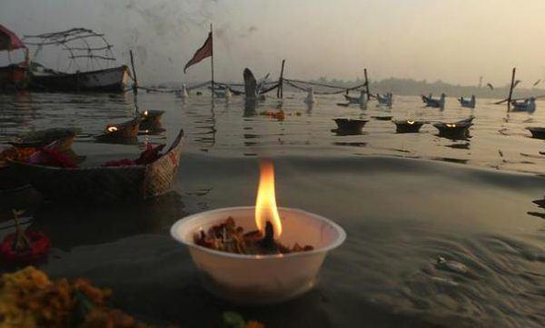 Ofrendas a la Madre Ganges