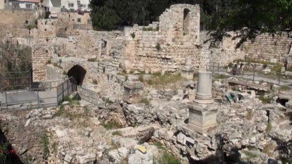 Ruinas de la ciudad de Betsaida