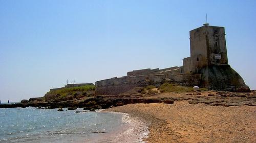 Sancti Petri, donde podemos ver el templo dedicado a Hércules