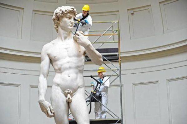 El David de Miguel Angel - SobreHistoria.com