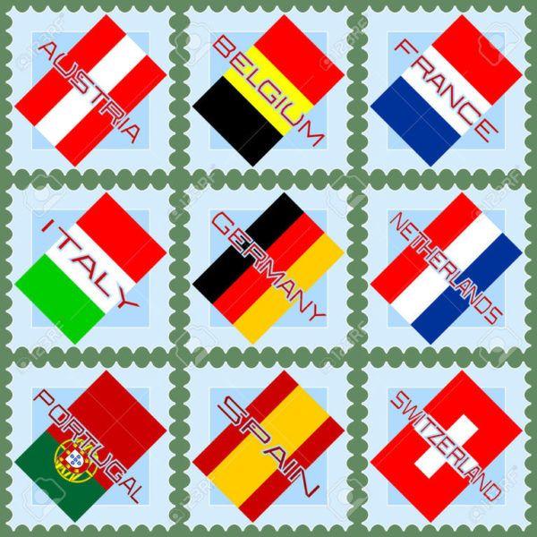 Mapas de Europa Fsicos Polticos y Mudo  SobreHistoriacom