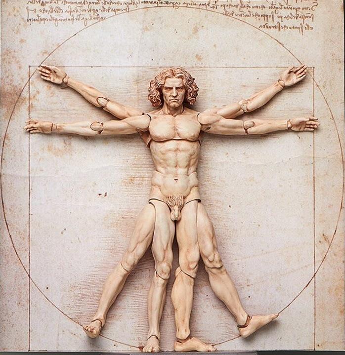 El hombre de Vitruvio de Leonardo Da Vinci - Significado y Estudio ...