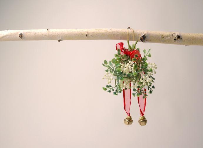 Come mettere un vischio a casa decorazione