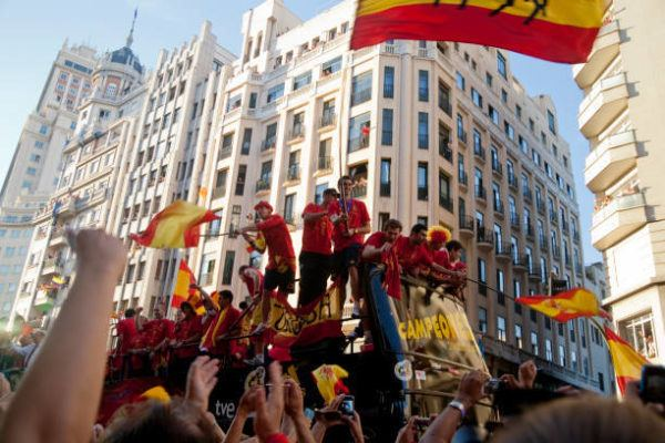 Seleccion española ganadores mundial
