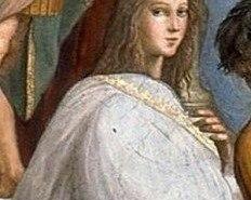 Hipatia de Alejandría, personaje de película