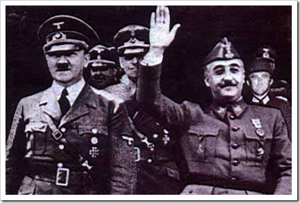Hitler y Franco en Hendaya 1940