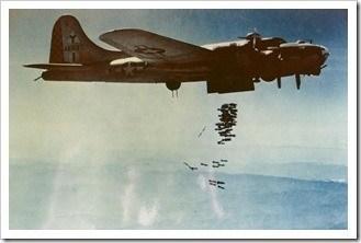 avion bombardero