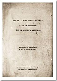 decreto constitucional, mexico