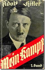 Cubierta de la primera edición alemana del Mein Kampf