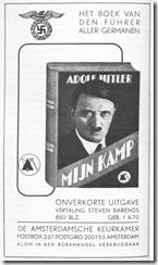 Publicidad del libro.