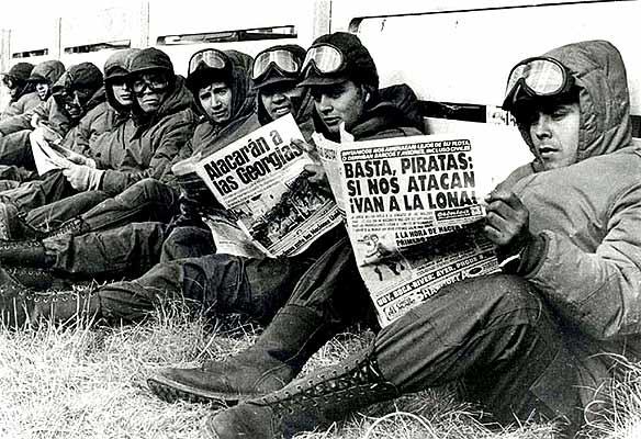 Aliados en la Guerra de Malvinas