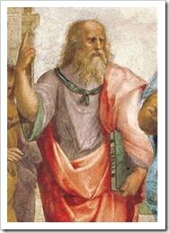 platon, detalle de la academia de Atenas, de Rafael
