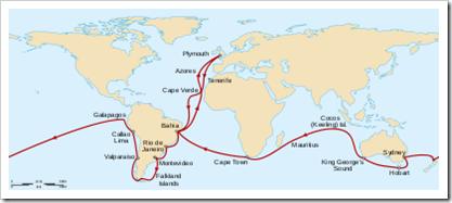 viaje del beagle de darwin